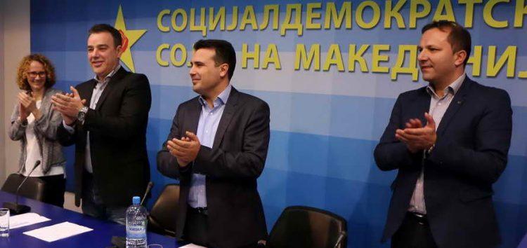 Централниот одбор на СДСМ едногласно го утврди претседателот Зоран Заев за мандатар за состав на новата Влада