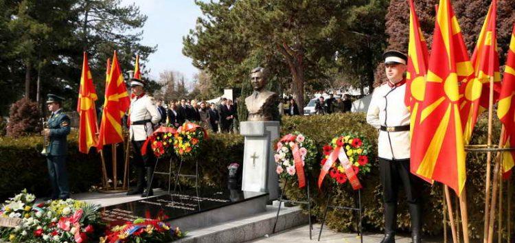 Делегација на СДСМ оддаде почит на претседателот Борис Трајковски