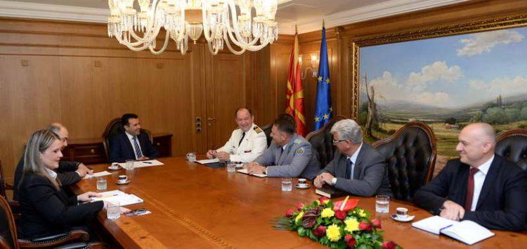 Бартол: Новата Влада ја движи Македонија кон НАТО и ЕУ