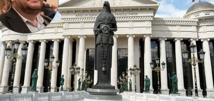 """Алаѓозовски: Не е скапо само уривањето, туку и одржувањето на објектите од """"Скопје 2014"""""""