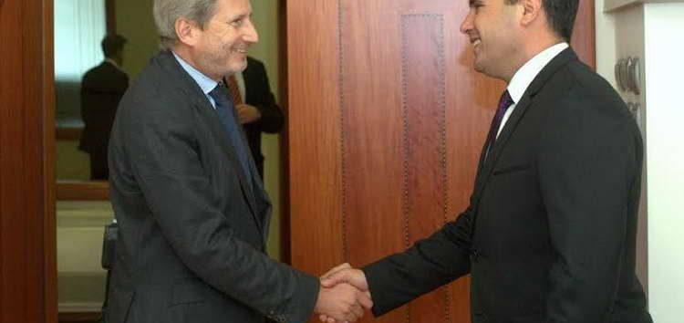 Хан во 13.10 часот на средба со Заев, седницата на Влада половина час подоцна