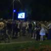 Поддржувачи на ВМРО-ДПМНЕ излегоа на протест пред судот поради обвиненијата на СЈО
