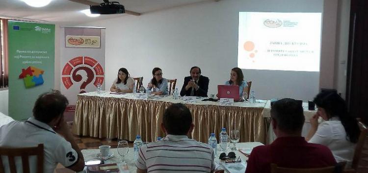 """Јавна дискусија за подобрување на условите за живот во ромската населба """"Тризла 2"""" во Прилеп"""