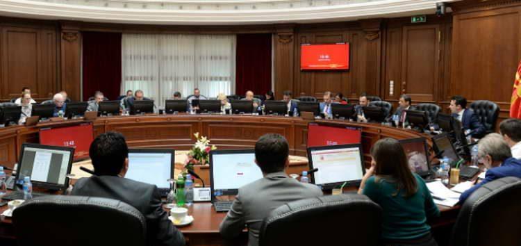 Одржана 85. седница на Владата на Република Македонија