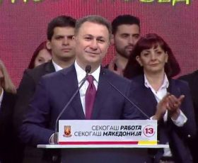 Груевски од Охрид: На 15 октомври ќе има референдум за новата ера во Македонија