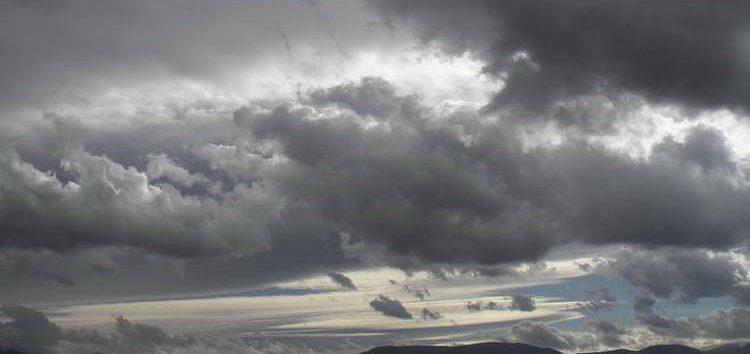 Променливо време со услови за дожд и грмежи