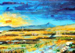 Изложба на уметникот Драган Верговски во ликовната галерија во Прилеп