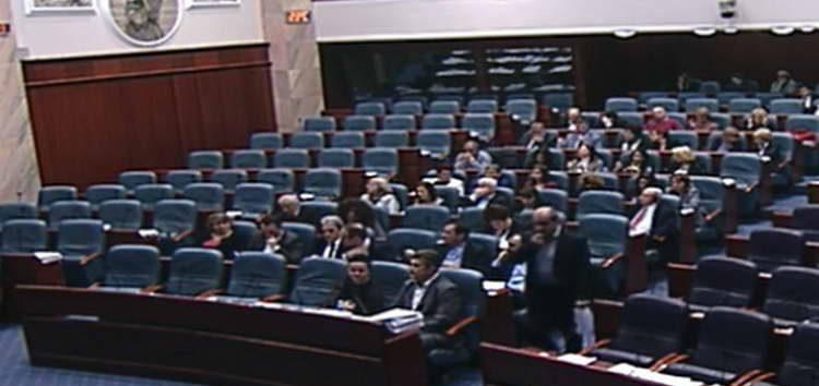 Пратенички прашања денеска во Собранието, ВМРО-ДПМНЕ нема да присуствува