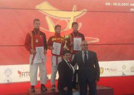 """Ката тимот од карате клубот """"Бонсаи"""" од Прилеп е балкански шампион"""