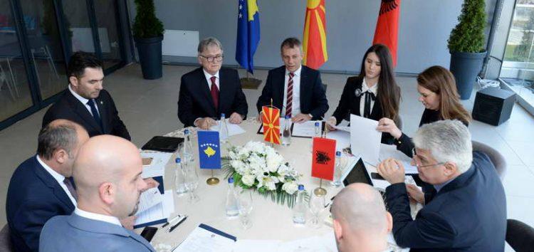 Трилатерална средба на министрите за дијаспора во Охрид