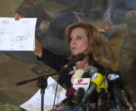 """Канческа Милевска не се чувствува виновна во случајот """"Тендери"""" за Музејот на ВМРО"""