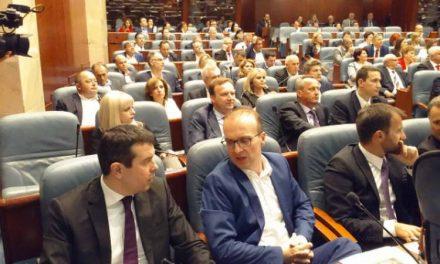 ВМРО-ДПМНЕ привремено ќе се врати во Собранието за говорот на Столтенберг