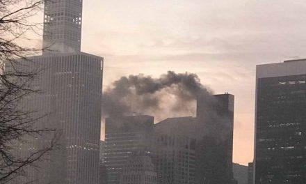 Пожар во кулата на Трамп во Њујорк