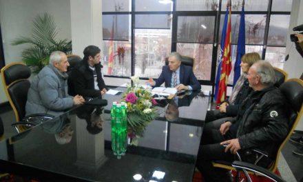 """Градоначалникот Јованоски оствари средба со синдикалната организација на """"Еурокомпозит-11.Октомври"""""""