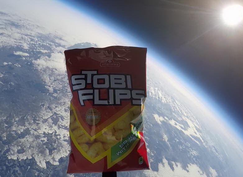 Стоби Флипс – Прв македонски бренд во вселената