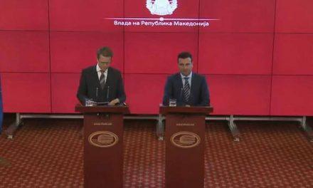"""Заев: Подготвени сме за географска одредница, а аеродромот – Меѓународен аеродром """"Скопје"""""""