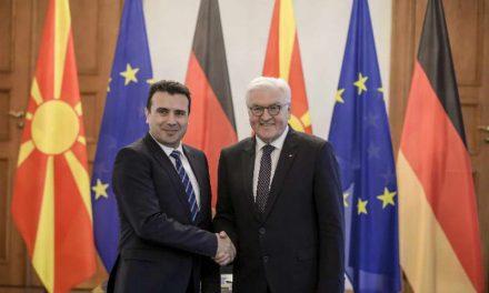 Штајнмајер: Решението на спорот за името ќе даде импулс за регионот