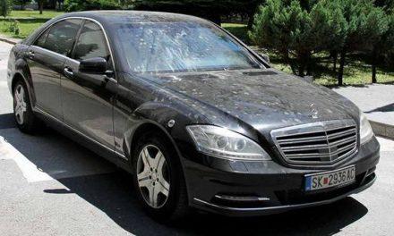 """Луксузниот """"мерцедес"""" кој МВР го нарача за Груевски сега вреди 234.000 евра"""