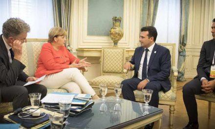 Телефонски разговор Заев – Меркел: Спроведувањето на Договорот од Преспа е добра вест за Европа