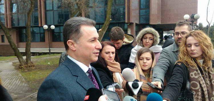 Груевски: Можеби следната истрага на СЈО ќе биде затоа што некаде сум ручал, па сум платил