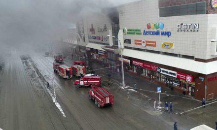 Најмалку 64 загинати во големиот пожар во Кемерово