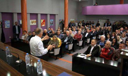 Градоначалникот Јованоски на петта средба со Граѓанскиот парламент
