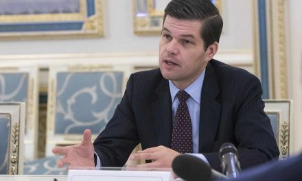 Помошникот државен секретар на САД, Вес Мичел, денеска во Скопје