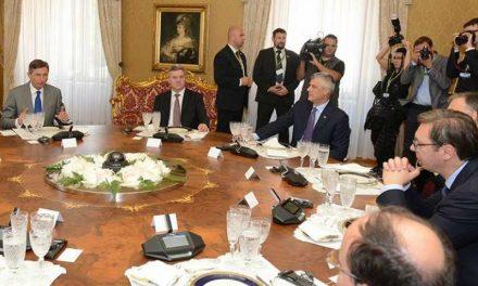 Балканската политичка елита и Доналд Туск на самитот Брдо-Бриони во Скопје