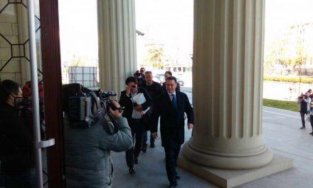 """Судењето за """"Титаник"""" одложено за 26 април, адвокатите на Груевски побараа изземање на судиите"""
