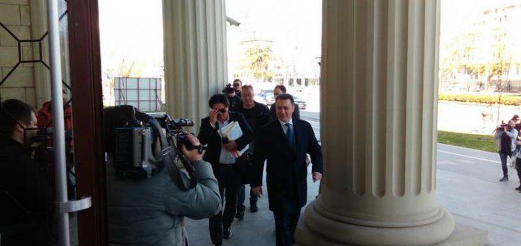 Предлогот за одземање на мандатот на Груевски на пленарна седница