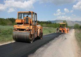 Се асфалтира патот кон вештачкото езеро во Прилеп