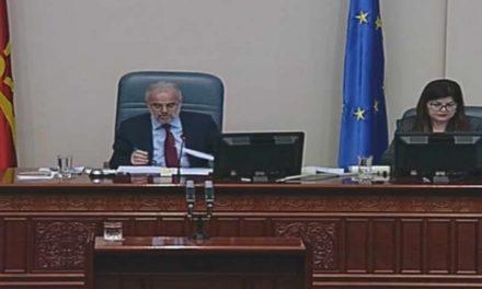 Џафери до Димовски: Јас не познавам поим страв, вие од ВМРО-ДПМНЕ тоа добро го знаете