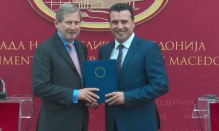 Јоханес Хан утре доаѓа во еднодневна работна посета на Република Македонија