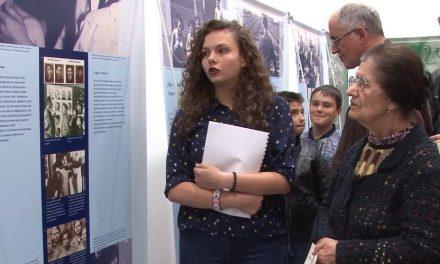 """Патувачката изложба """"Ана Франк – историја за денес"""" стигна и во Крушево"""