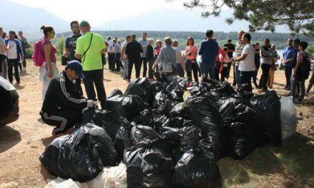 Општина Прилеп спроведе обемна еколошка акција за чистење на животната средина