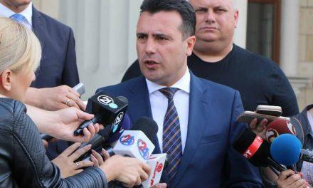 Заев: Продолжуваат разговорите и со други политички субјекти за влез во Владата