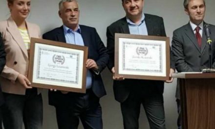 Лазаревски и Костовски номинирани за наградата на ЕП за свиркачи на годината