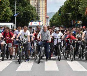 """Во Прилеп се одржа традиционалната манифестација """"Сите на велосипед"""""""