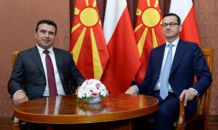Средба Заев – Моравјецки: Силна поддршка од Полска за Македонија