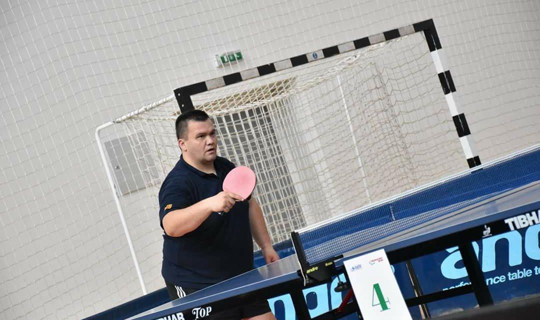 Нови успеси на македонскиот репрезентативец во пинг понг за лица со инвалидност, Рубин Ристески