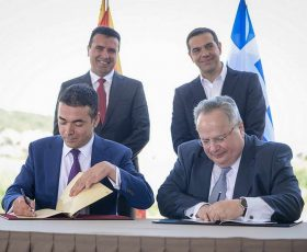 Локалните власти од Северна Грција бараат референдум за Договорот од Преспа