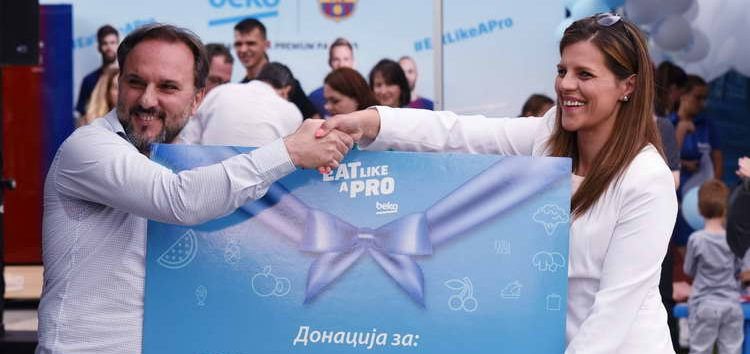 Beko во борба против дебелината кај децата во Македонија