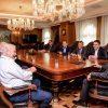 Заев се сретна со добитникот на Нобеловата награда за физиологија и медицина, Ферид Мурад