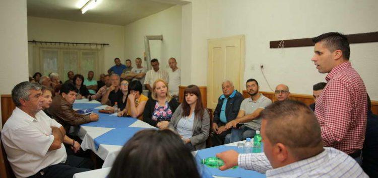 Николовски во Пехчево:  Со растот на инвестициите се отвораат повеќе можности за нови работни места