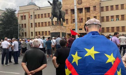 Македонски круг со креда