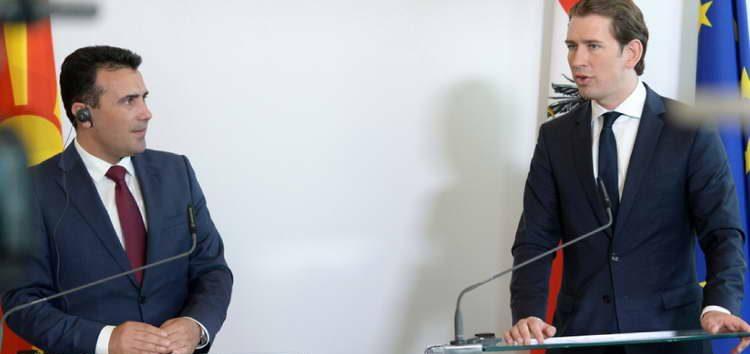 Средба Заев-Курц: Силна поддршка од Австрија за Македонија да добие почеток на преговори со ЕУ