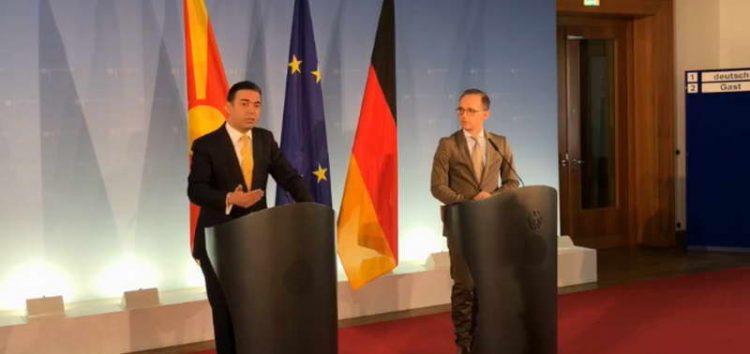 Германија смета дека Македонија заслужува признание од цела ЕУ
