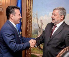 Заев на средба со полскиот амбасадор во заминување, Мултановски