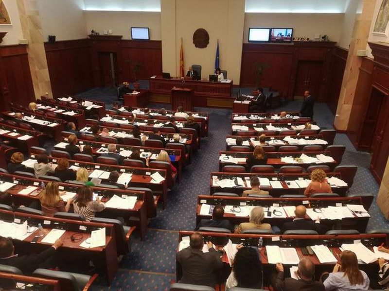 """Која е """"ќе"""", а која била """"не"""" влада, се расправа на собраниската седница"""