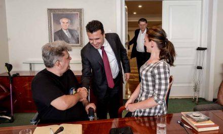 Премиерот Заев на средба со Полио Плус